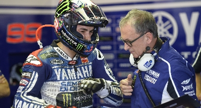 Lorenzo torna al comando foto Yamaha