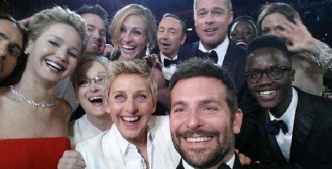 A Tiki Taka selfie 'da Oscar' in diretta