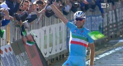 Giro di Lombardia: strepitoso Nibali, primo trionfo