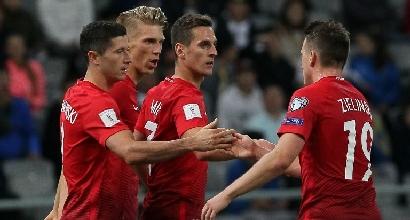 Qualificazioni Russia 2018: Polonia bloccata dal Kazakistan, Inghilterra ok