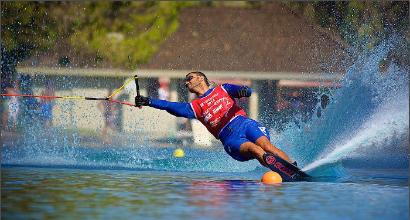 Sci nautico per disabili, immenso Cassioli: record del mondo nello slalom