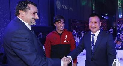 """Milan, Yonghong Li: """"Soprenderemo ancora i tifosi"""""""