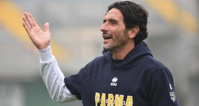 Serie B, Parma: allenamento inedito per Lucarelli... contro il figlio