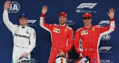 """F1, Vettel: """"Macchina fantastica, gran giro"""""""