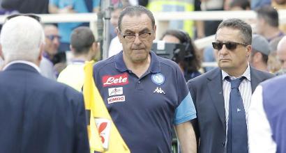 """Napoli, Sarri mastica amaro: """"Un crollo nervoso, scudetto sempre stato in mano alla Juve"""""""