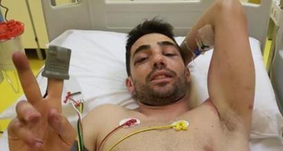 """MotoGP, brutto incidente per Pirro al Mugello: nessuna frattura. Lui rassicura tutti su Fb: """"Sono un po' sbattuto ma ho la pelle dura!"""""""