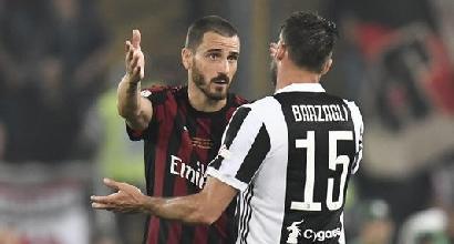 Juventus, Allegri: 'Bonucci calciatore importante'/ 'Dispiace per Caldara, ringrazio Higuain'