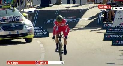 Ciclismo, Vuelta: Dennis vince a Torrelavega, Yates sempre più maglia rossa