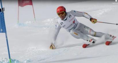 Innerhofer scia sulla Torre di Pisa: verso i Mondiali allenandosi in Val di Fassa e Fiemme