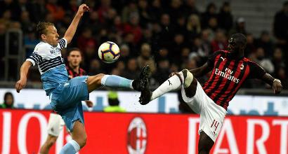 Milan-Lazio, Lucas Leiva nega gli insulti: