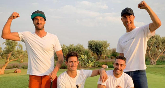 Ronaldo torna a Madrid e si dà al golf