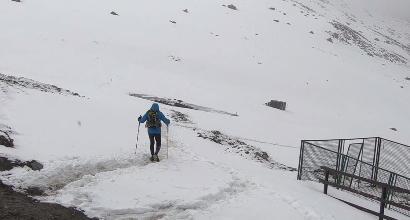 QuarTrail des Alpages, correre nella tormenta