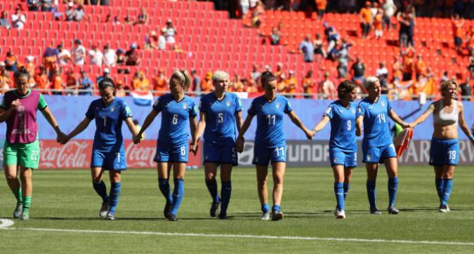 Mondiali donne: Italia eliminata
