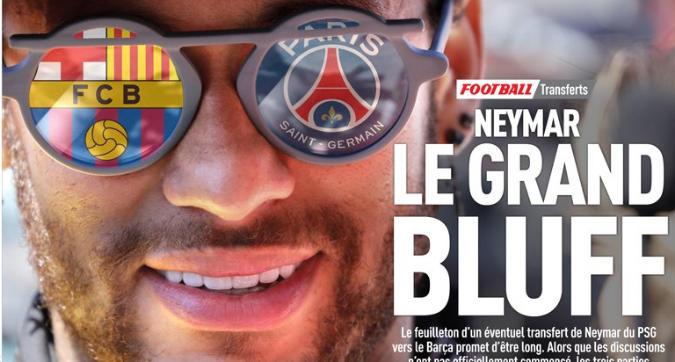 """Psg, Neymar diventa """"il grande bluff"""" su L'Equipe. E ora si rischia il braccio di ferro"""
