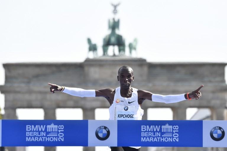 Maratona, Kipchoge da record