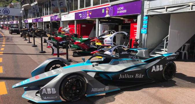 E-Prix Monaco: tutto pronto, box e podio
