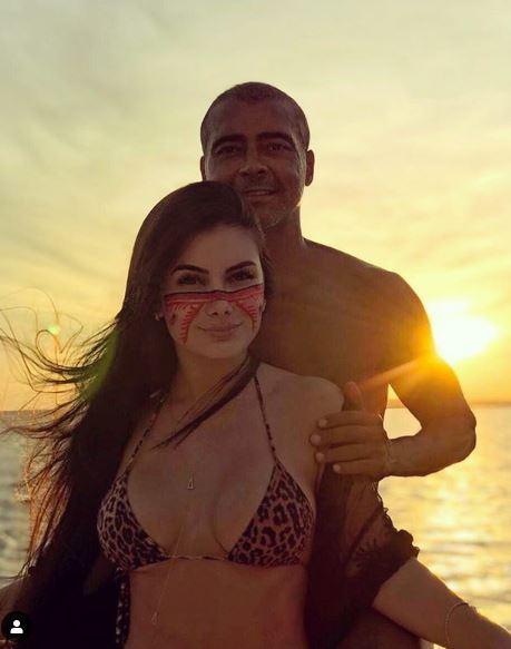 Romario, nuova fidanzata di 22 anni: le foto