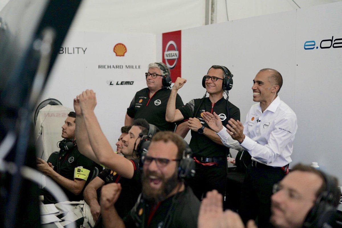 A New York vince Buemi mentre il leader della classifica di Formula E, Vergne, vive un sabato da incubo