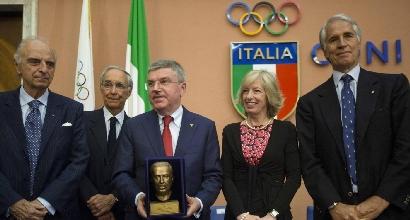 """Bach: """"Rimpianto Roma 2024. Olimpiadi che avrebbero lasciato il segno"""""""