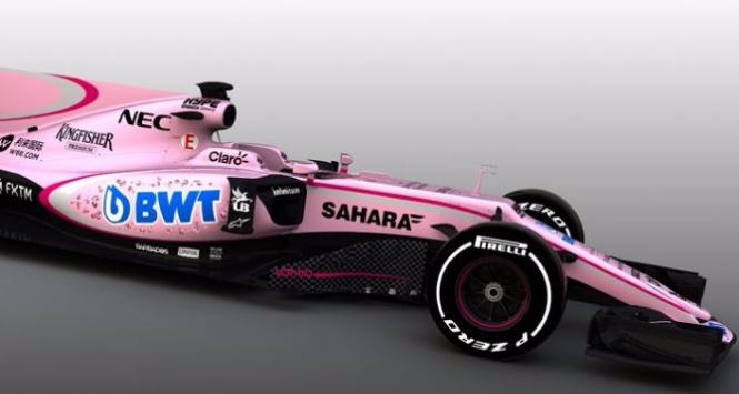 Force India, Foto da Twitter