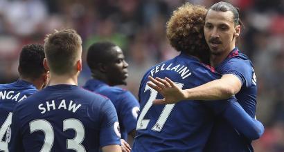 Premier: Manchester United corsaro, Sunderland regolato
