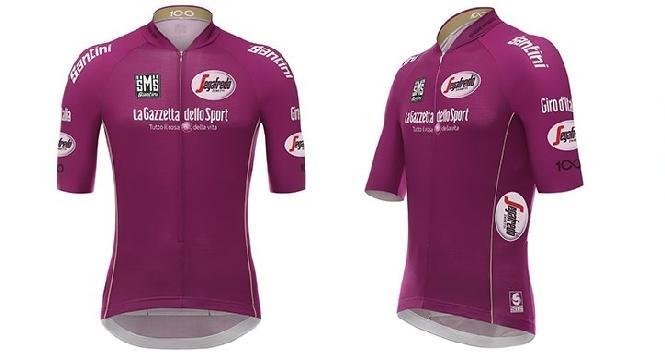 Giro d'Italia del centenario, torna la storica maglia ciclamino