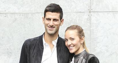 Tennis, Djokovic è nuovamente papà