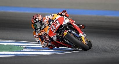 MotoGP: Marquez beffa Pedrosa, nono Dovizioso