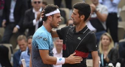 """Tennis, Cecchinato: """"Una vittoria di coraggio"""""""