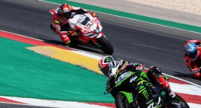 Superbike, Gp Portogallo: Rea trionfa anche in gara 2, Melandri terzo