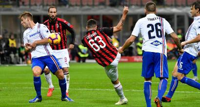Italia: Mancini, guai a non puntare su Cutrone