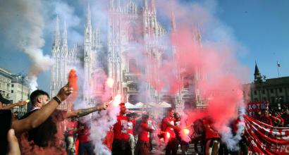 """Europa League, il Milan ai tifosi: """"Non prendete mezzi e non vestitevi di rossonero"""""""