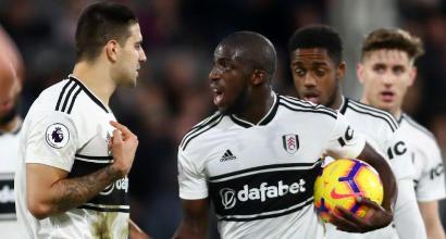 Fulham shock, Kamara arrestato per aggressione ad alcuni membri dello staff