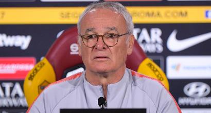 """Roma, Ranieri: """"Voglio una squadra attenta e senza paura. Dzeko e Schick insieme"""""""