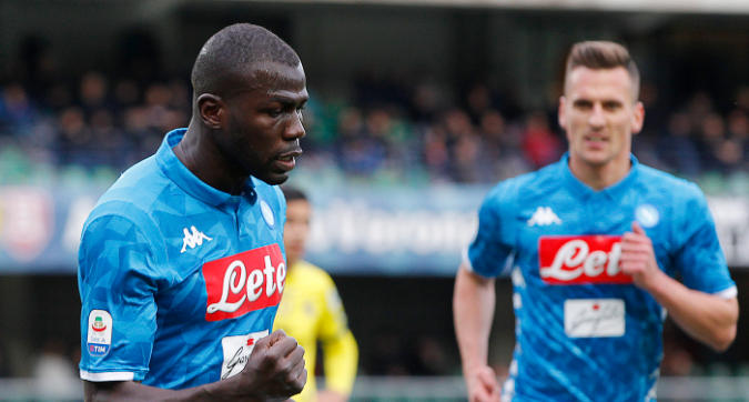 Chievo-Napoli 1-3: super Koulibaly