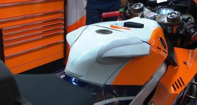 MotoGP, nuovo serbatoio per Lorenzo a Barcellona