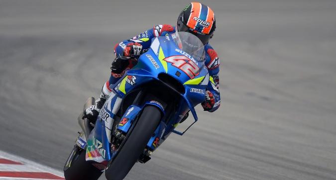 MotoGP, Rins padrone nelle Libere 3