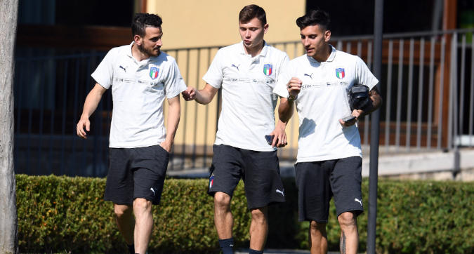 Roma, il<em>segnale </em>social: Pellegrini inizia a seguire Barella su Instagram