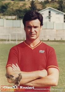 Ranieri, la carriera nelle figurine Panini