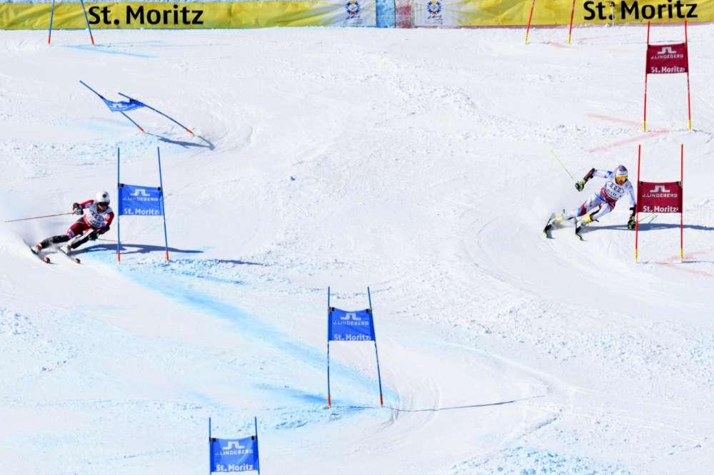 Sulle nevi di St. Moritz la Francia conquista l'oro nel team event battendo in finale la Slovacchia. Bronzo per la Svezia, Italia eliminata ai quarti
