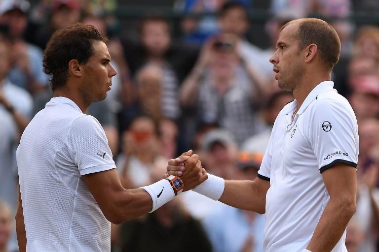 Tennis, Nadal saluta Wimbledon contro Muller
