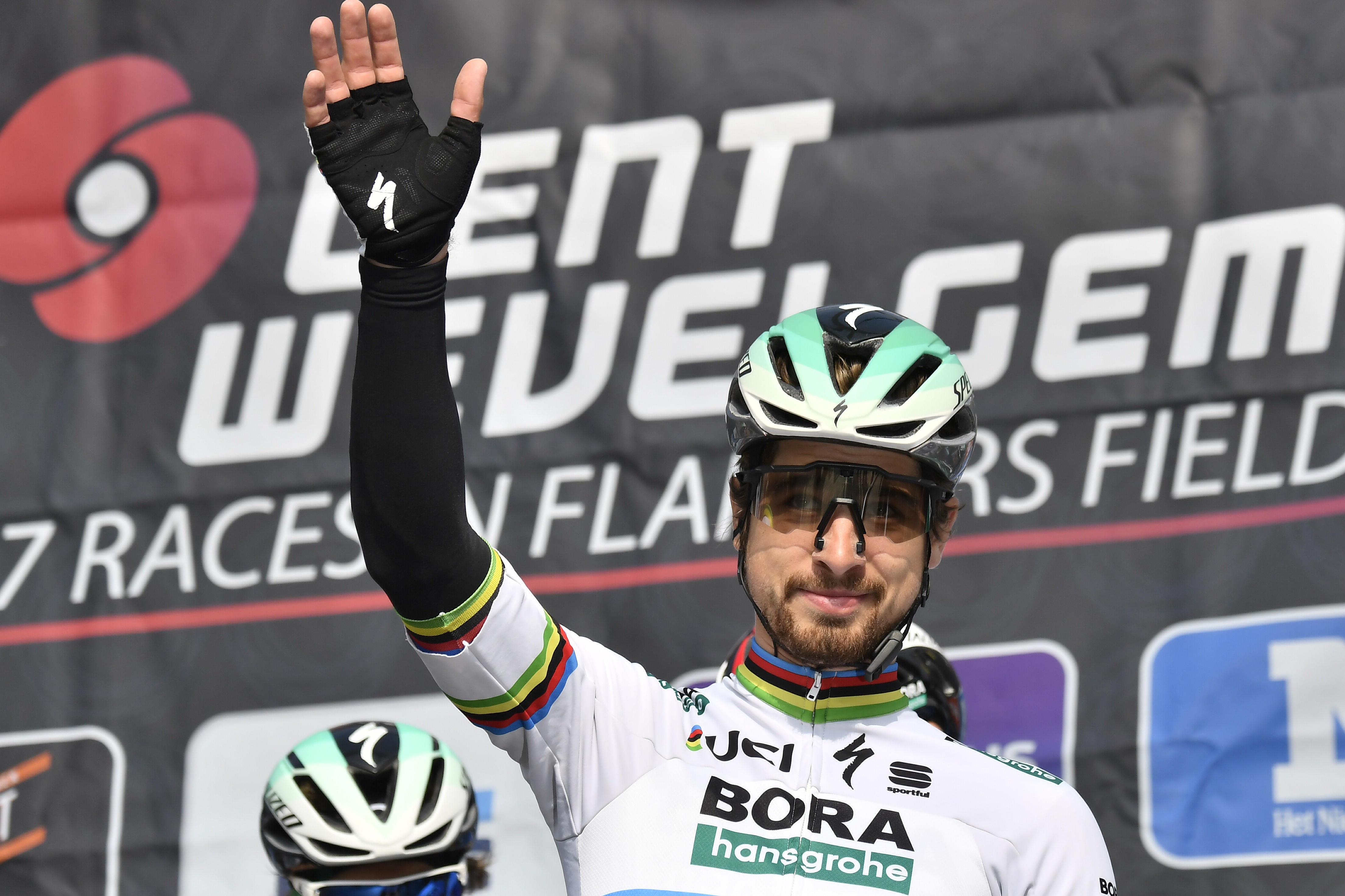 Gand-Wevelgem: trionfo di Sagan, secondo l'azzurro Viviani
