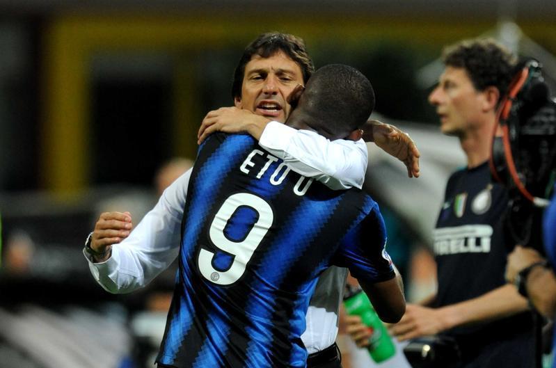 Leonardo, subentrato stagione 2010/11. Ha vinto la Coppa Italia, secondo in campionato, fuori ai quarti di Champions. Bilancio totale: 22V, 3N, 7P. Media punti in campionato: 2,30