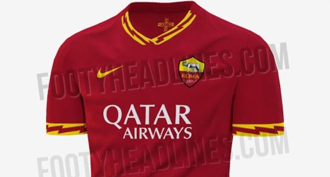 Roma, ecco la nuova maglia