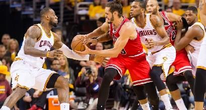 Nba: colpo Bulls a casa LeBron