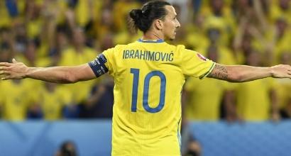 Ibrahimovic, foto AFP