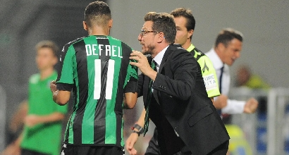 Serie A: Sassuolo-Pescara 2-1, Berardi segna sempre