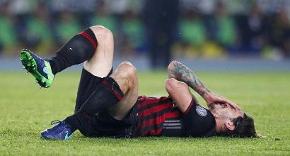 Infortunio Romagnoli, il comunicato del Milan sulle condizioni del difensore. La diagnosi