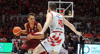 Basket, Playoff Serie A: Pistoia si arrende, Venezia avanti