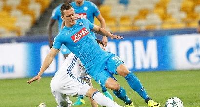 Champions League, il Napoli riparte dallo Shakhtar
